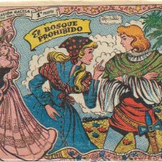 Tebeos: COLECCION GACELA,CUENTOS PARA NIÑAS Nº 121 EL BOSQUE PROHIBIDO-ED.RICART 1959. Lote 23755695