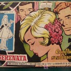 Tebeos: SERENATA. Nº 46 CONFLICTO SENTIMENTAL 1959. CANCIONES JIMMY FONTANA. REVISTA JUVENIL FEMENINA. . Lote 19041826