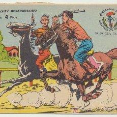 Tebeos: AVENTURAS DEPORTIVAS. RICART (4 PTAS) EL JOCKEY DESAPARECIDO.. Lote 19219023