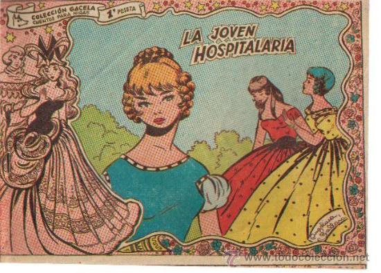 COLECCION GACELA,CUENTOS PARA NIÑAS Nº 124 LA JOVEN HOSPITALARIA-ED.RICART 1959 (Tebeos y Comics - Ricart - Gacela)