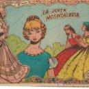 Tebeos: COLECCION GACELA,CUENTOS PARA NIÑAS Nº 124 LA JOVEN HOSPITALARIA-ED.RICART 1959. Lote 23085478