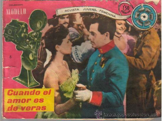 COLECCION MODELO Nº 8 - ED.RICART AÑOS 50 (Tebeos y Comics - Ricart - Modelo)