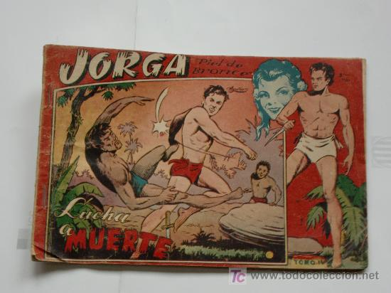 JORGA ALBUM TOMO IV RICART 1954 ORIGINAL (Tebeos y Comics - Ricart - Jorga)