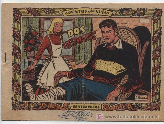 SENTIMENTAL. DOS HERMANOS. EDIT. RICART. (Tebeos y Comics - Ricart - Sentimental)