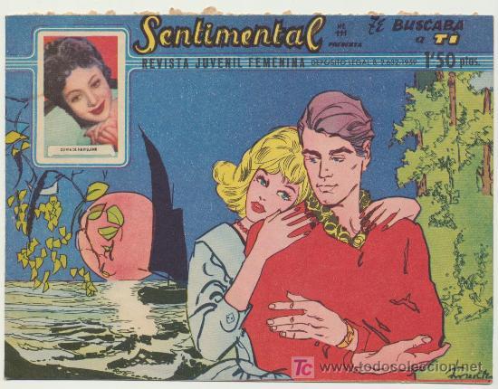 SENTIMENTAL Nº 111. RICART. (Tebeos y Comics - Ricart - Sentimental)