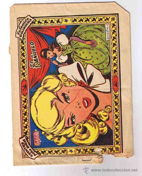 COLECCION GOLONDRINA / EL PAÑUELO / 1959 / TEBEO NIÑAS (Tebeos y Comics - Ricart - Golondrina)