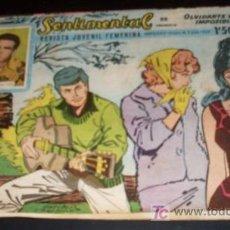 Tebeos: SENTIMENTAL - REVISTA JUVENIL FEMENINA - Nº 22 -1959. Lote 26134903
