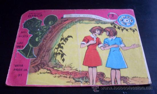 VAYA PAREJA - COLECCIÓN DIRCA - Nº 31 - RICART - 1969 (Tebeos y Comics - Ricart - Otros)