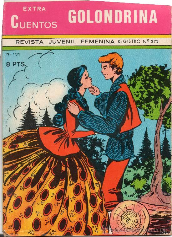 EXTRA CUENTOS GOLONDRINA Nº 131 (Tebeos y Comics - Ricart - Golondrina)