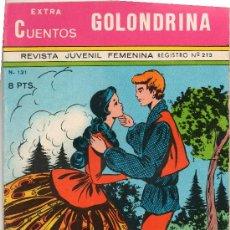 Tebeos: EXTRA CUENTOS GOLONDRINA Nº 131. Lote 21964710