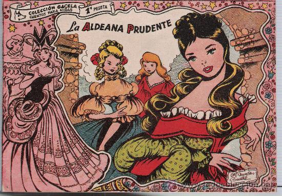 GACELA Nº 51: LA ALDEANA PRUDENTE. SIN ABRIR. ¡IMPECABLE! (Tebeos y Comics - Ricart - Gacela)