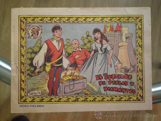 EL SURTIDOR DE PERLAS Y DIAMANTES // GRAFICAS RICART 1959 // COLECION ARDILLITA// (Tebeos y Comics - Ricart - Otros)