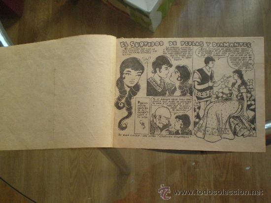 Tebeos: EL SURTIDOR DE PERLAS Y DIAMANTES // GRAFICAS RICART 1959 // COLECION ARDILLITA// - Foto 2 - 26316143