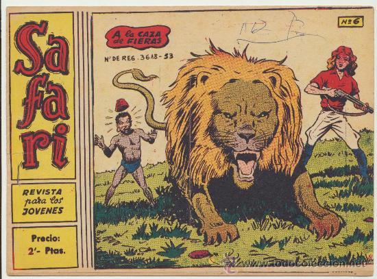 SAFARI Nº 6. (2 PTS) (Tebeos y Comics - Ricart - Safari)
