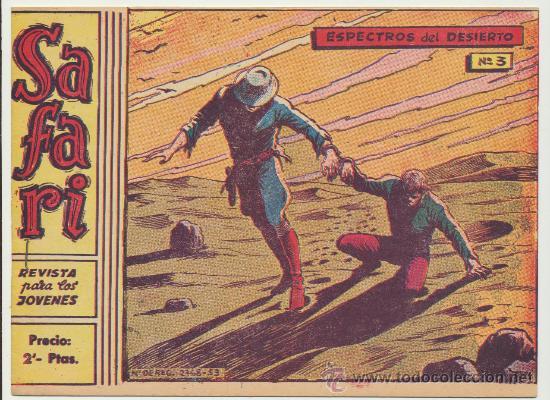 SAFARI Nº 3. (2 PTS) (Tebeos y Comics - Ricart - Safari)