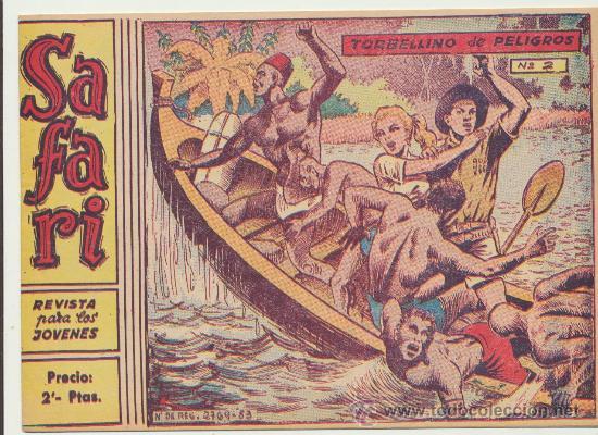 SAFARI Nº 2. (2 PTS) (Tebeos y Comics - Ricart - Safari)