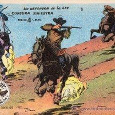 Tebeos: WINCHESTER JIM 1955 Nº 1 UN DEFENSOR DE LA LEY Y CONJURA SINIESTRA . Lote 24845804