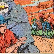 BDs: WINCHESTER JIM 1955 Nº 3 EL RESCATE DE DAVE Y SABOTAJE EN LAS VIAS. Lote 24846125