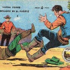 Tebeos: WINCHESTER JIM 1955 Nº 4 LUCHA FEROZ Y PELIGRO EN EL FUERTE. Lote 24846224
