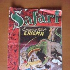 BDs: SAFARI Nº 18 - ENIGMA TRAS ENIGMA * C7. Lote 28137713