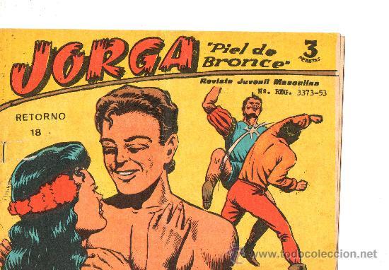 JORGA PIEL DE BRONCE Nº 18 DE RICART (Tebeos y Comics - Ricart - Jorga)