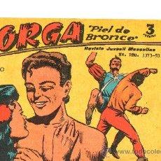Tebeos: JORGA PIEL DE BRONCE Nº 18 DE RICART . Lote 28413382
