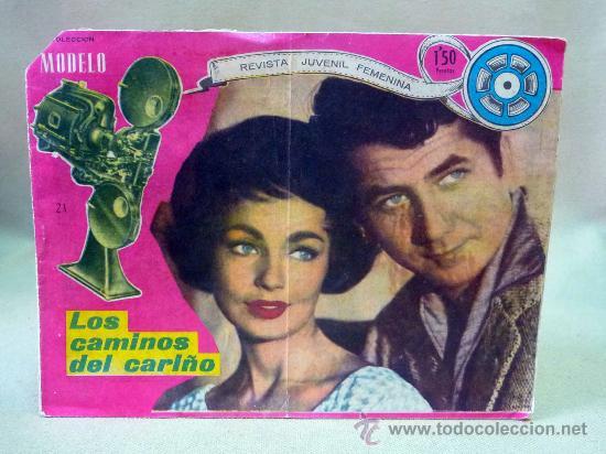 COMIC, MODELO, LOS CAMINOS DEL CARIÑO, Nº 21, MAGA, 1959, RICART (Tebeos y Comics - Ricart - Modelo)
