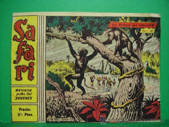 SAFARI Nº 4 RICART (Tebeos y Comics - Ricart - Safari)