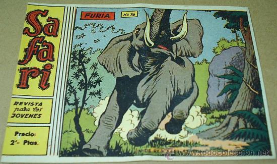 SAFARI - RICART - Nº 16 - IMPECABLE Y ULTIMO - ORIGINAL -LEER DESCRP (Tebeos y Comics - Ricart - Safari)