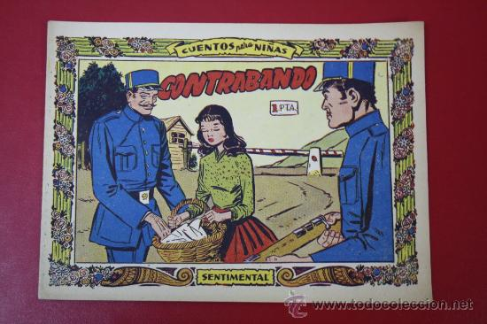 TEBEO COLECCIÓN SENTIMENTAL: CONTRABANDO, Nº 247, AÑO 1959 (Tebeos y Comics - Ricart - Sentimental)