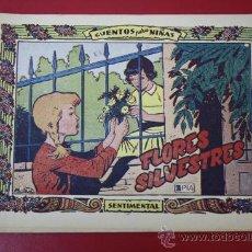 Tebeos: TEBEO COLECCIÓN SENTIMENTAL: FLORES SILVESTRES, Nº 251, AÑO 1959. Lote 29402012