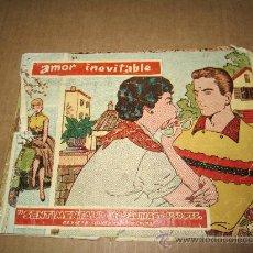 Tebeos: TEBEOS DE NIÑA `` AMOR INEVITABLE, SENTIMENTAL´´. Lote 30166902