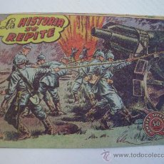Tebeos: HOMBRES AVENTUREROS - LA HISTORIA SE REPITE - CONTRAPORTADA PUBLICIDAD CHOCOLATES EL MAGO (LEON). Lote 30230255
