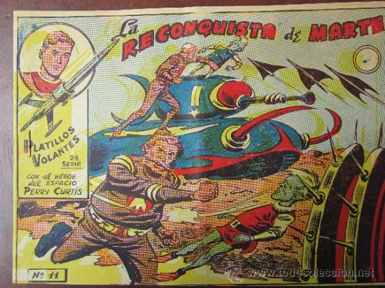 PLATILLOS VOLANTES SEGUNDA SERIE N.11 , MUY BUENA CONSERVACION (Tebeos y Comics - Ricart - Otros)