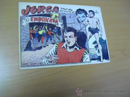 JORGA Nº 17, DE RIDART 1963 (Tebeos y Comics - Ricart - Jorga)