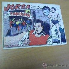 Tebeos: JORGA Nº 17, DE RIDART 1963. Lote 30978939