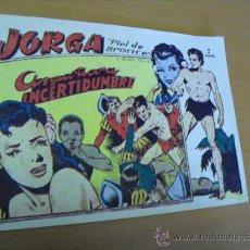 Tebeos: JORGA Nº 8, DE RICART 1963. Lote 30978969