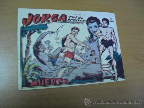 JORGA Nº 10, DE RICART 1963 (Tebeos y Comics - Ricart - Jorga)