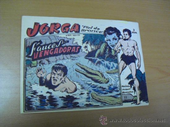 JORGA Nº 11, DE RICART 1963 (Tebeos y Comics - Ricart - Jorga)