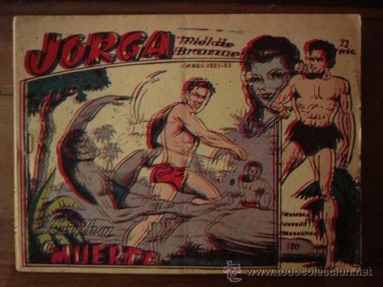 JORGA PIEL DE BRONCE. Nº 2. RICART. 1963. (Tebeos y Comics - Ricart - Jorga)