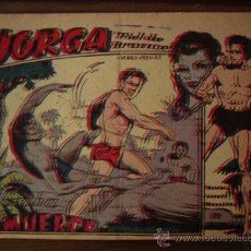 Tebeos: JORGA PIEL DE BRONCE. Nº 2. RICART. 1963.. Lote 31027957