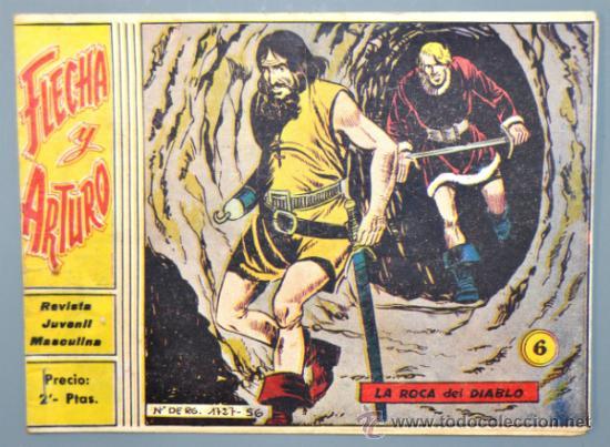 FLECHA Y ARTURO Nº 6 EDICIONES RICART (Tebeos y Comics - Ricart - Flecha y Arturo)