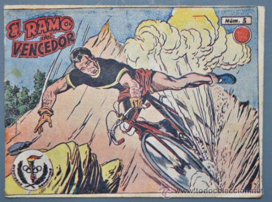 AVENTURAS DEPORTIVAS, EL RAMO DEL VENCEDOR Nº 5 EDITORIAL RICART. (Tebeos y Comics - Ricart - Aventuras Deportivas)