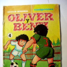 Tebeos: OLIVER Y BENJI--Nº 4--AÑO 1990 ORIGINAL. Lote 32603682