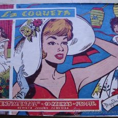 Tebeos: LA COQUETA ILUSTRA MAGDA G. ED. RICART COL. SENTIMENTAL #6 CATI. Lote 32681927