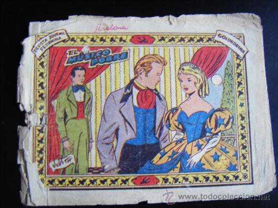 RICART, COLECCION GOLONDRINA. EL MÚSICO POBRE. REVISTA JUVENIL FEMENINA. (Tebeos y Comics - Ricart - Golondrina)