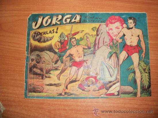 JORGA Nº 5 EDITORIAL RICART ORIGINAL 1953 1ª EDICION (Tebeos y Comics - Ricart - Jorga)