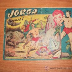 Tebeos: JORGA Nº 5 EDITORIAL RICART ORIGINAL 1953 1ª EDICION. Lote 33335631