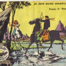 Giornalini: WINCHESTER JIM, EL JEFE MANO AMARILLA. Nº 23. 2 PTS. CON VIÑETAS EN TAPA TRASERA.. Lote 33705350