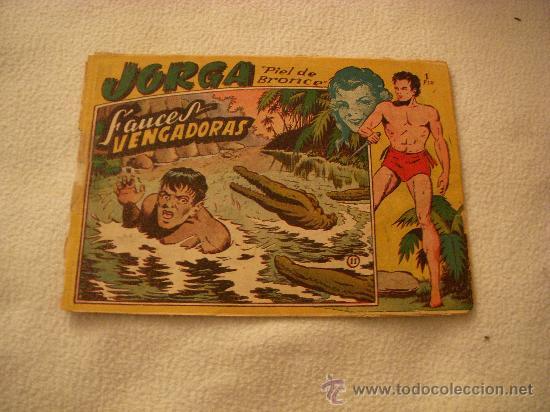 JORGA Nº 11, EDITORIAL RICART (Tebeos y Comics - Ricart - Jorga)